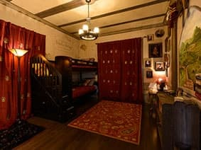 The Harry Potter Bedroom at The Ever After Estate