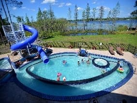 The GO FISH pool and Lazy River at Great Escape Lakeside near Orladndo, FL - The ultimate vacation home rental