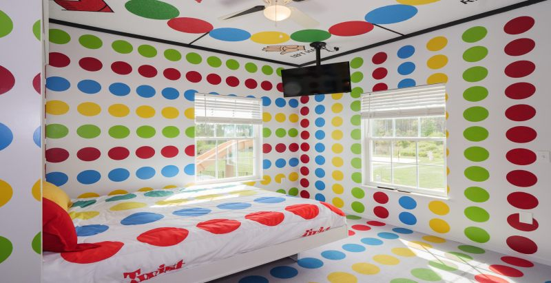 The Twister Bedroom at Great Escape Parkside